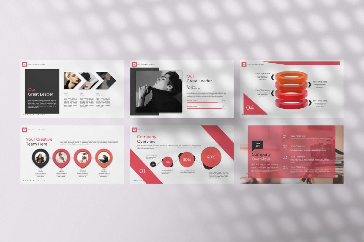 Hello Creative Keynote, Slide 4, 06635, Presentation Templates — PoweredTemplate.com