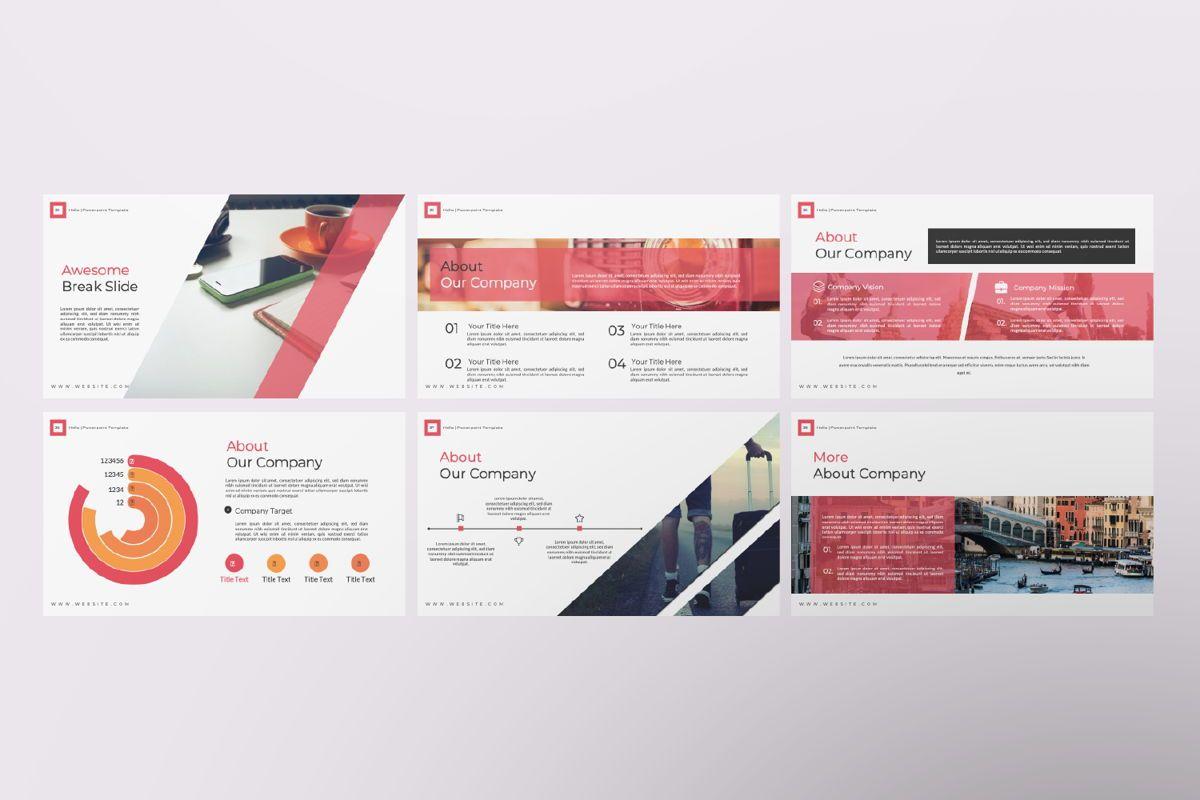Hello Creative Keynote, Slide 6, 06635, Presentation Templates — PoweredTemplate.com