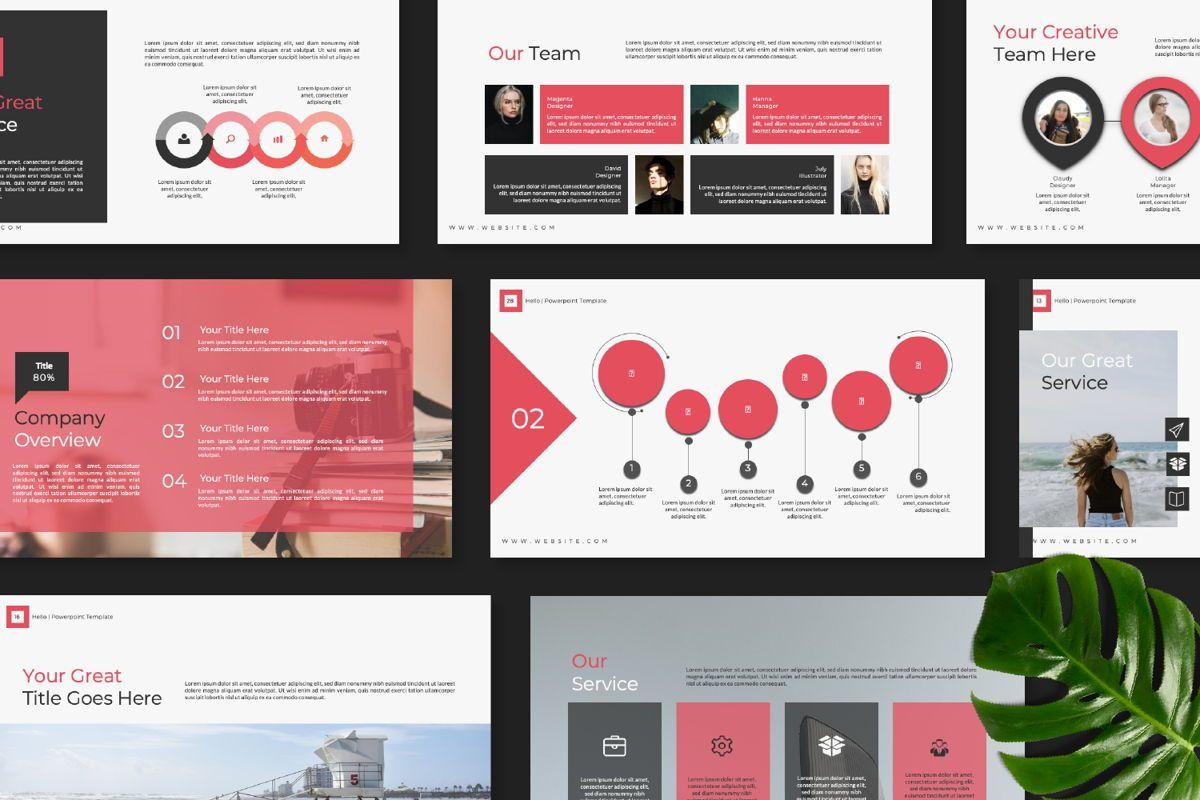 Hello Creative Keynote, Slide 8, 06635, Presentation Templates — PoweredTemplate.com