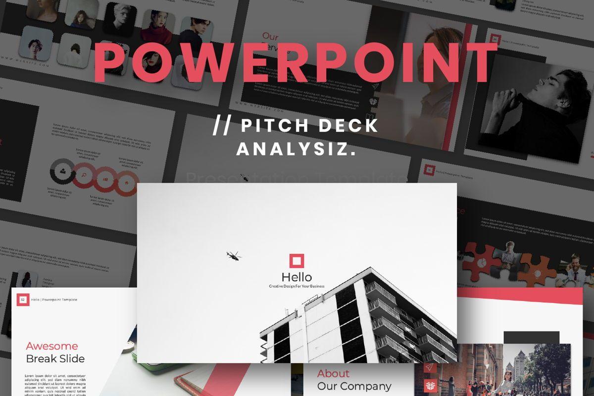 Hello Creative Powerpoint, 06636, Presentation Templates — PoweredTemplate.com