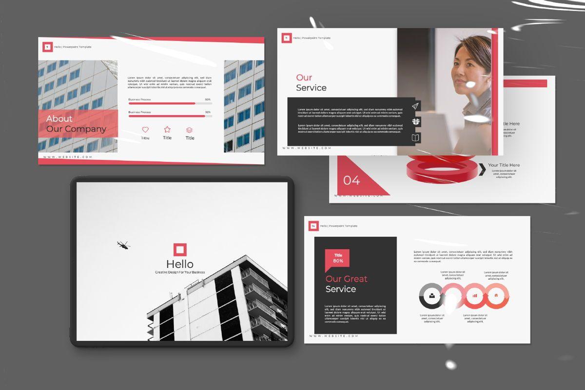 Hello Creative Powerpoint, Slide 11, 06636, Presentation Templates — PoweredTemplate.com