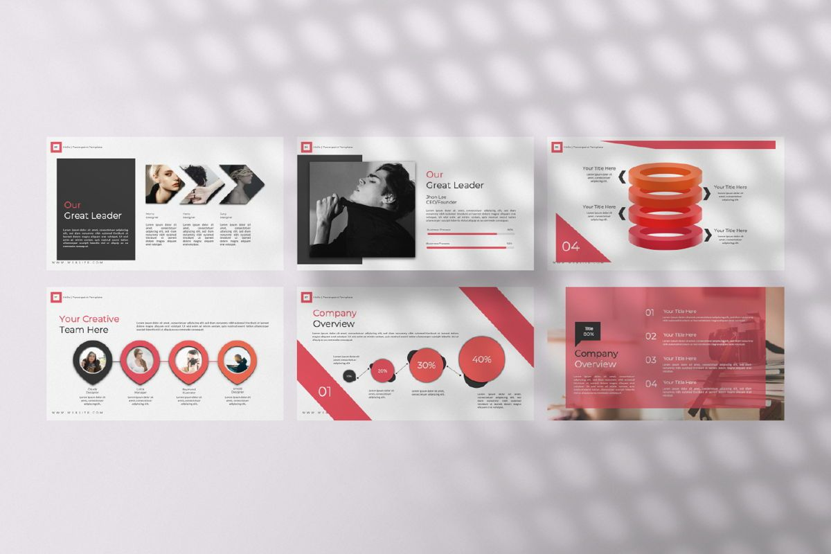 Hello Creative Powerpoint, Slide 4, 06636, Presentation Templates — PoweredTemplate.com