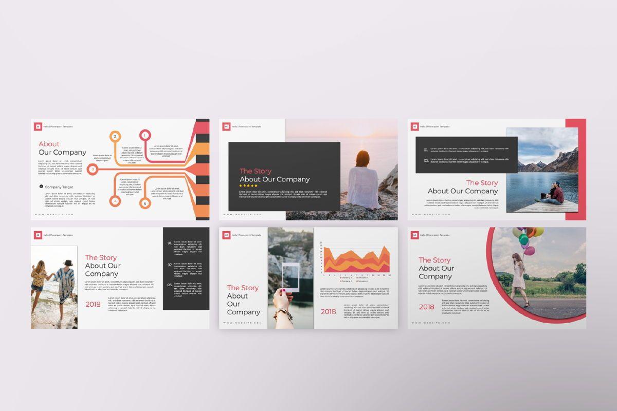 Hello Creative Powerpoint, Slide 7, 06636, Presentation Templates — PoweredTemplate.com
