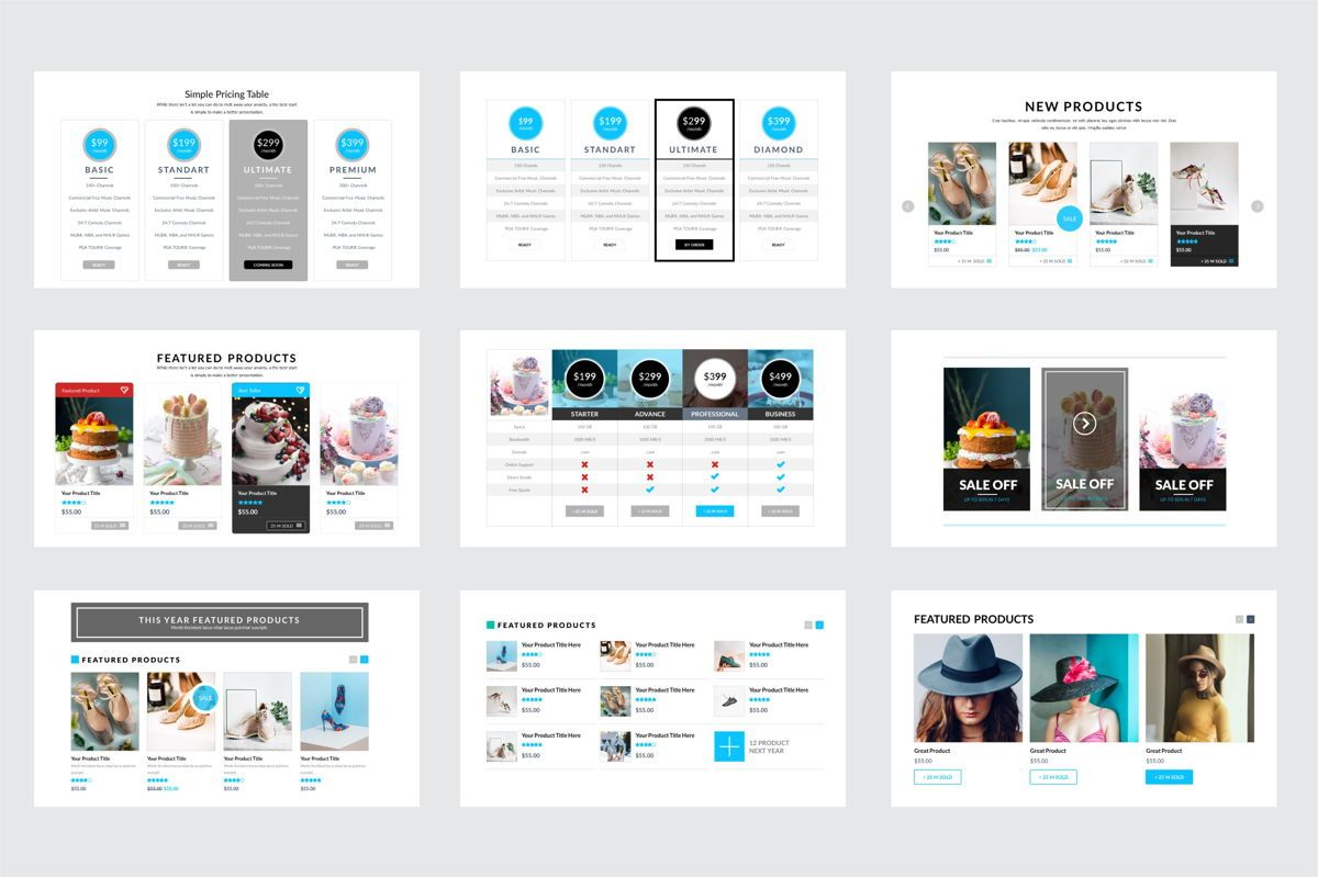 Arca Product Feature and Pricing Presentation Template, Slide 5, 06637, Presentation Templates — PoweredTemplate.com