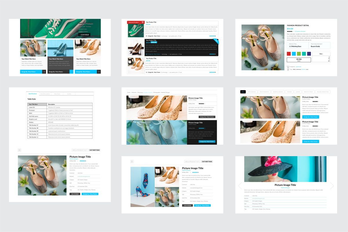 Arca Product Feature and Pricing Presentation Template, Slide 6, 06637, Presentation Templates — PoweredTemplate.com