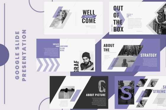 Presentation Templates: Graf Business Google Slide #06638