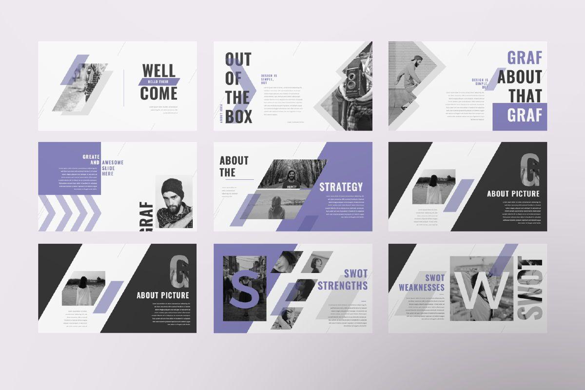 Graf Business Google Slide, Slide 2, 06638, Presentation Templates — PoweredTemplate.com