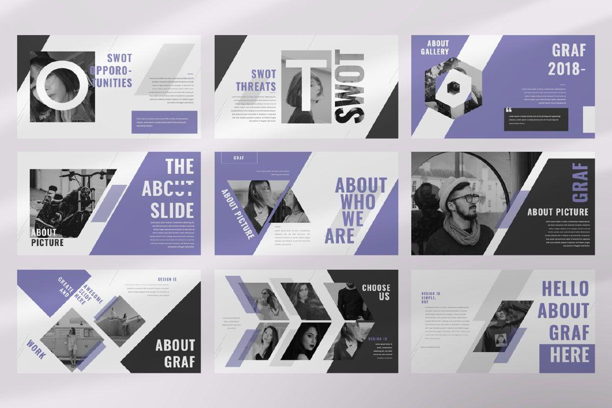 Graf Business Google Slide, Slide 3, 06638, Presentation Templates — PoweredTemplate.com