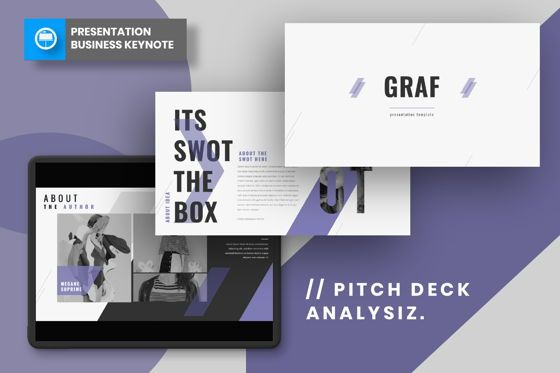 Presentation Templates: Graf Business Keynote #06639