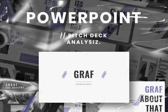 Presentation Templates: Graf Business Powerpoint #06640