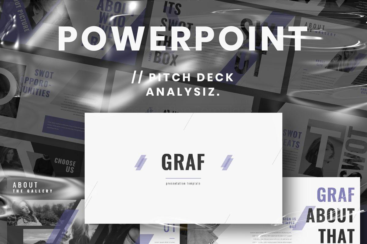 Graf Business Powerpoint, 06640, Presentation Templates — PoweredTemplate.com
