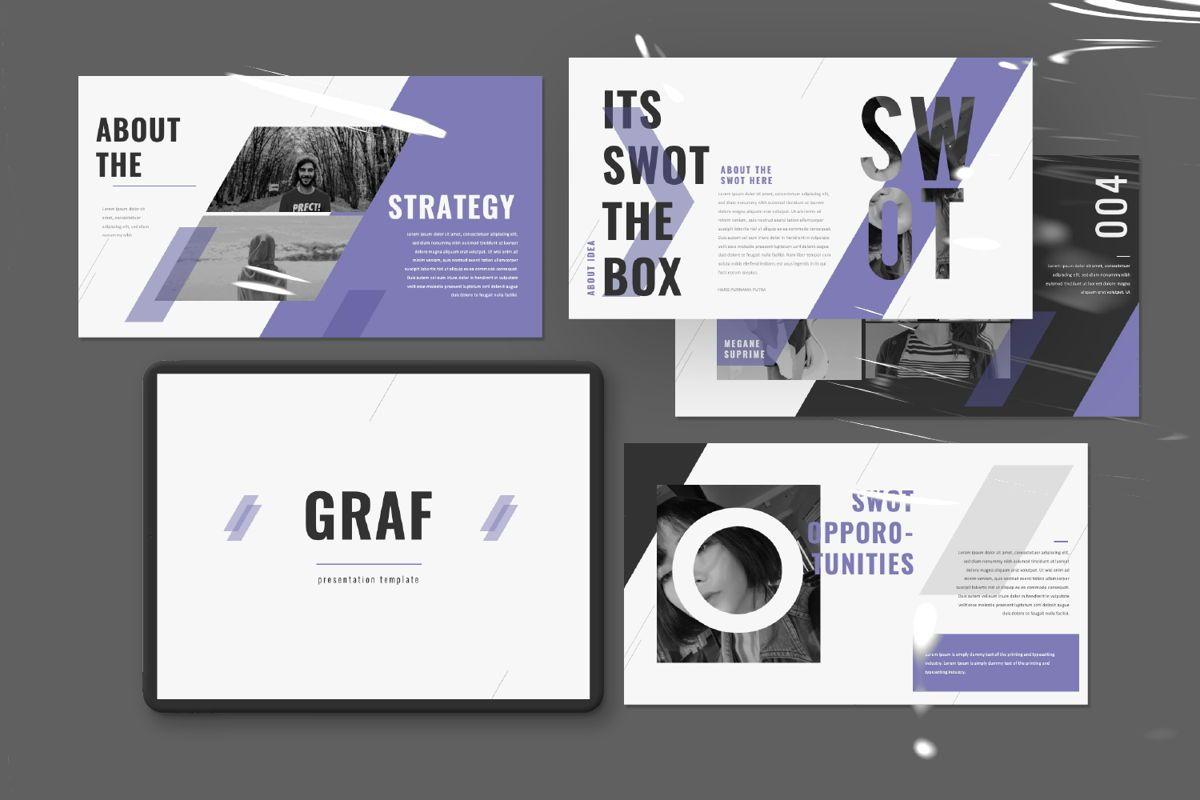 Graf Business Powerpoint, Slide 11, 06640, Presentation Templates — PoweredTemplate.com