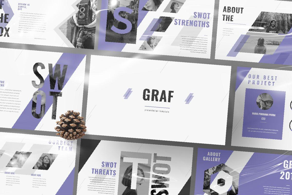 Graf Business Powerpoint, Slide 12, 06640, Presentation Templates — PoweredTemplate.com
