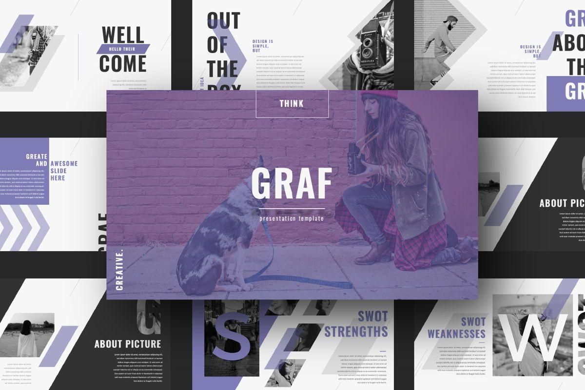 Graf Business Powerpoint, Slide 13, 06640, Presentation Templates — PoweredTemplate.com