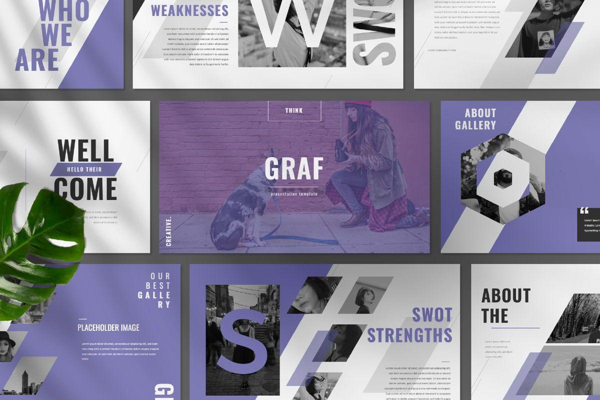 Graf Business Powerpoint, Slide 9, 06640, Presentation Templates — PoweredTemplate.com