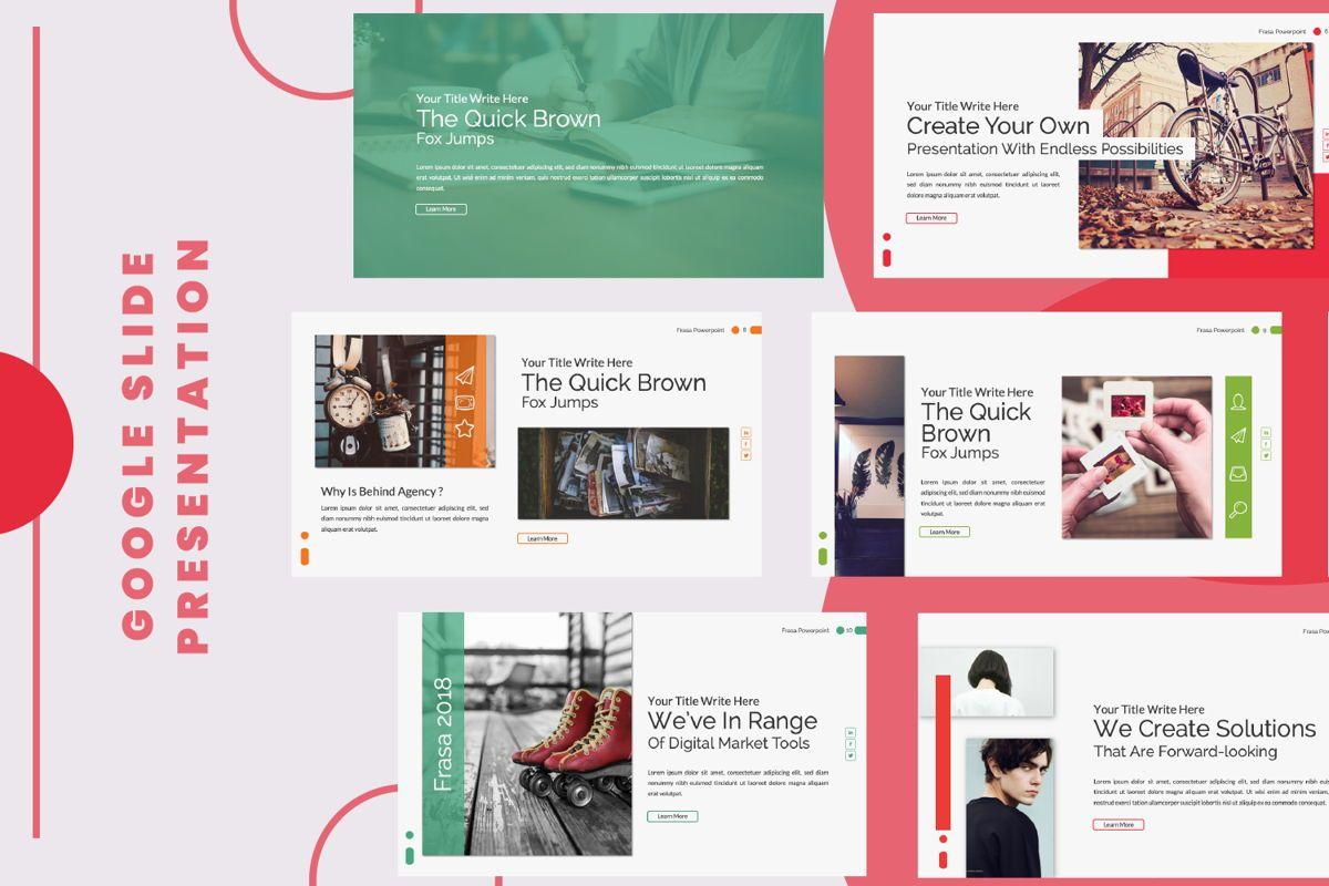 Frasa Business Google Slide, 06642, Presentation Templates — PoweredTemplate.com
