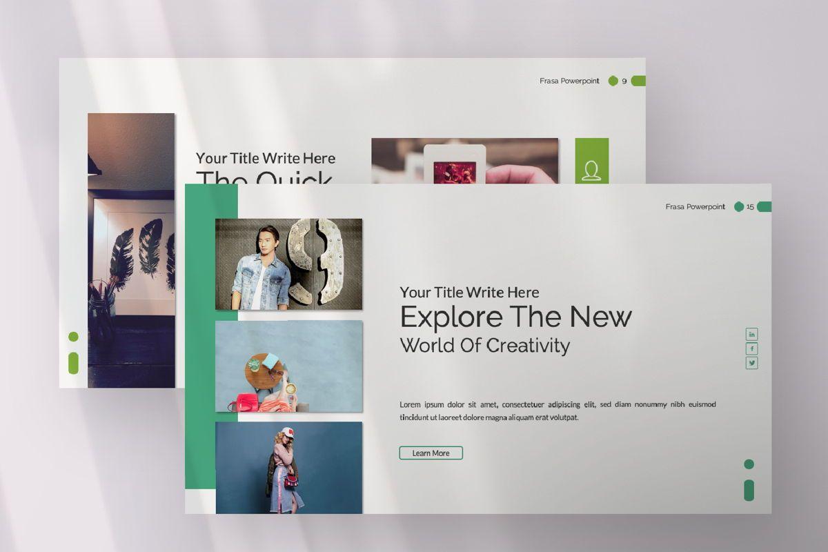 Frasa Business Google Slide, Slide 4, 06642, Presentation Templates — PoweredTemplate.com