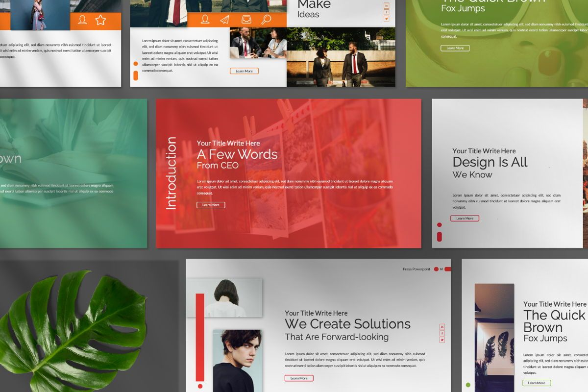 Frasa Business Google Slide, Slide 5, 06642, Presentation Templates — PoweredTemplate.com