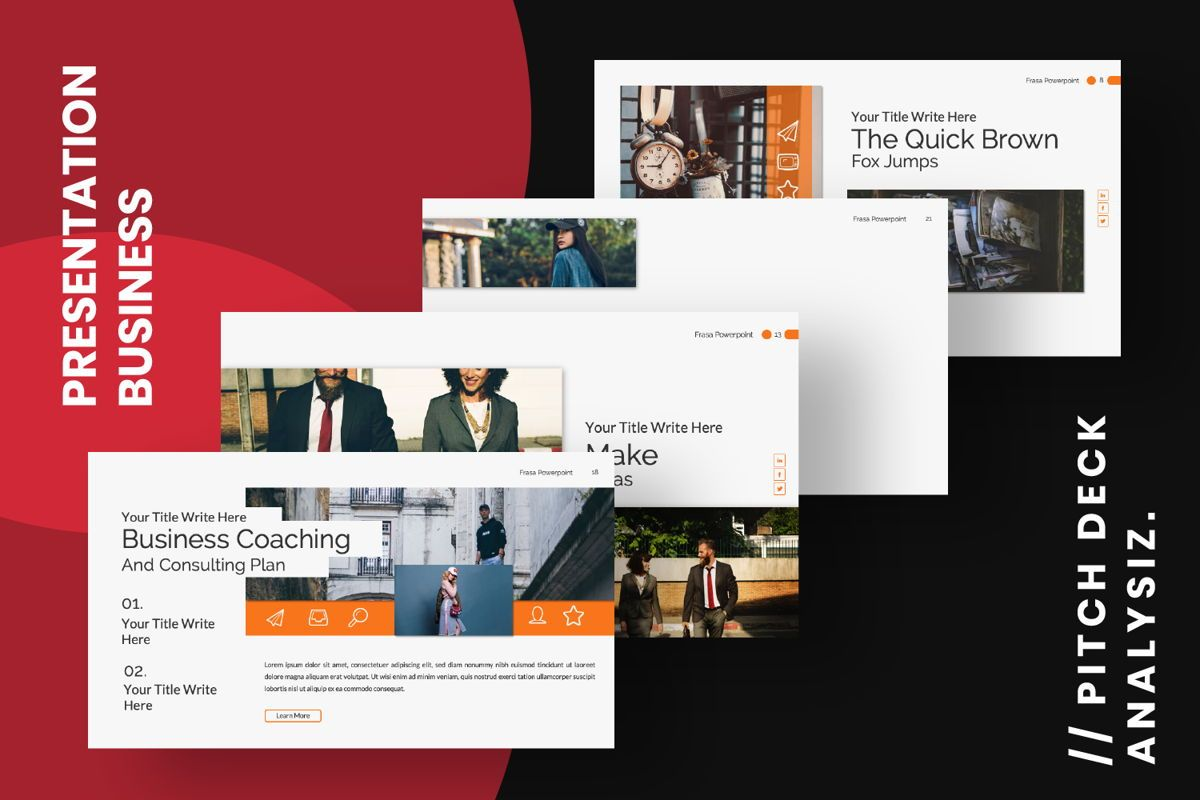 Frasa Business Google Slide, Slide 9, 06642, Presentation Templates — PoweredTemplate.com