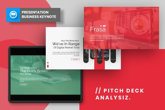 Presentation Templates: Frasa Business Keynote #06643