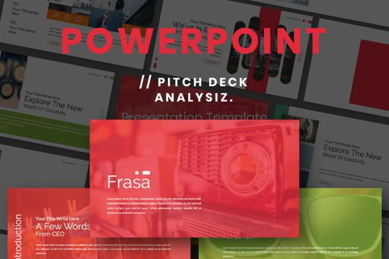 Presentation Templates: Frasa Business Powerpoint #06644