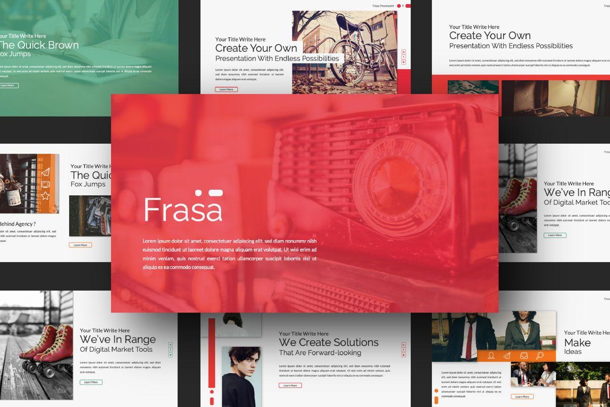 Frasa Business Powerpoint, Slide 10, 06644, Presentation Templates — PoweredTemplate.com