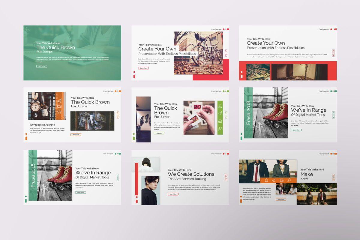 Frasa Business Powerpoint, Slide 2, 06644, Presentation Templates — PoweredTemplate.com