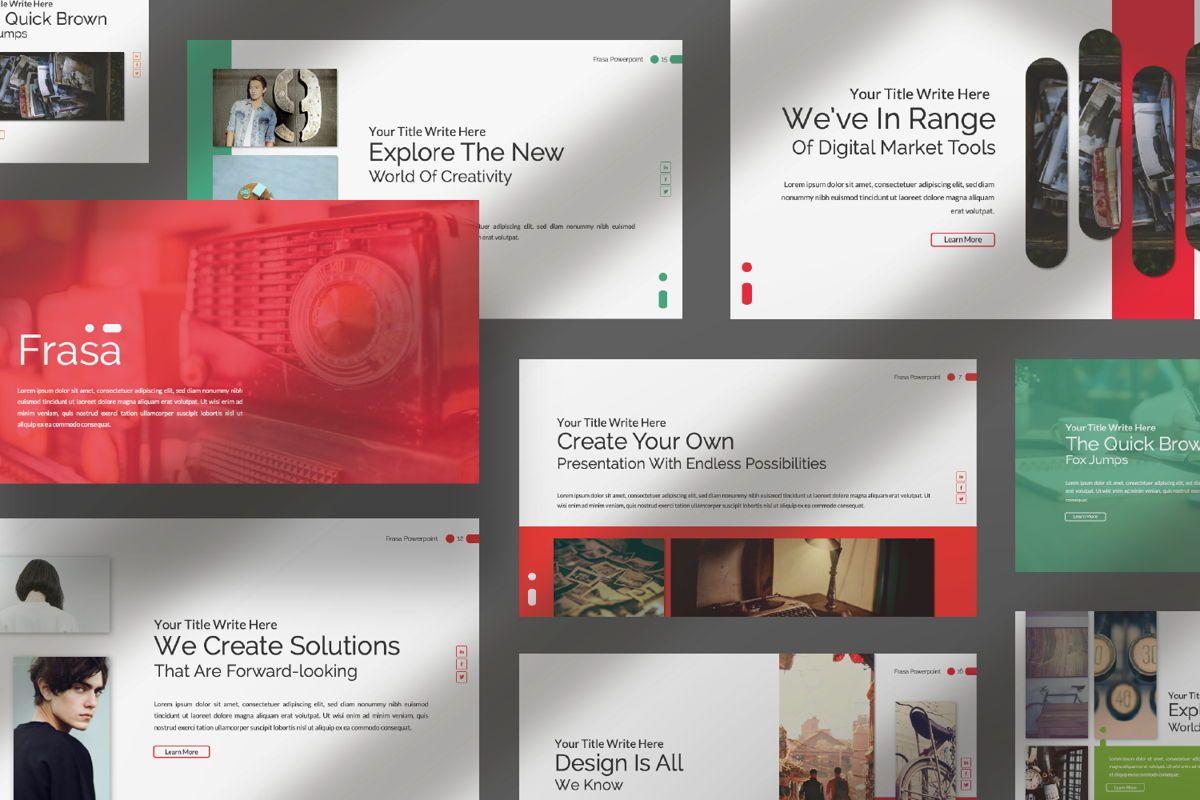 Frasa Business Powerpoint, Slide 6, 06644, Presentation Templates — PoweredTemplate.com