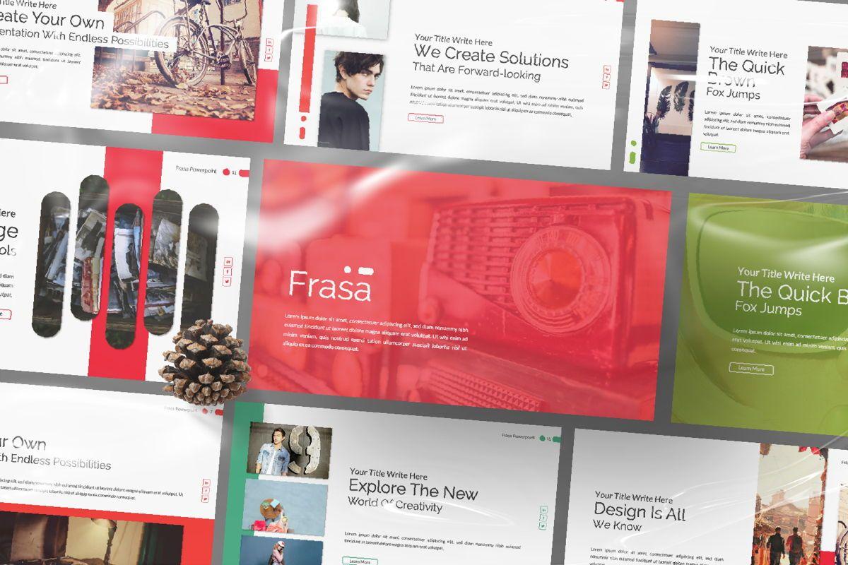 Frasa Business Powerpoint, Slide 8, 06644, Presentation Templates — PoweredTemplate.com