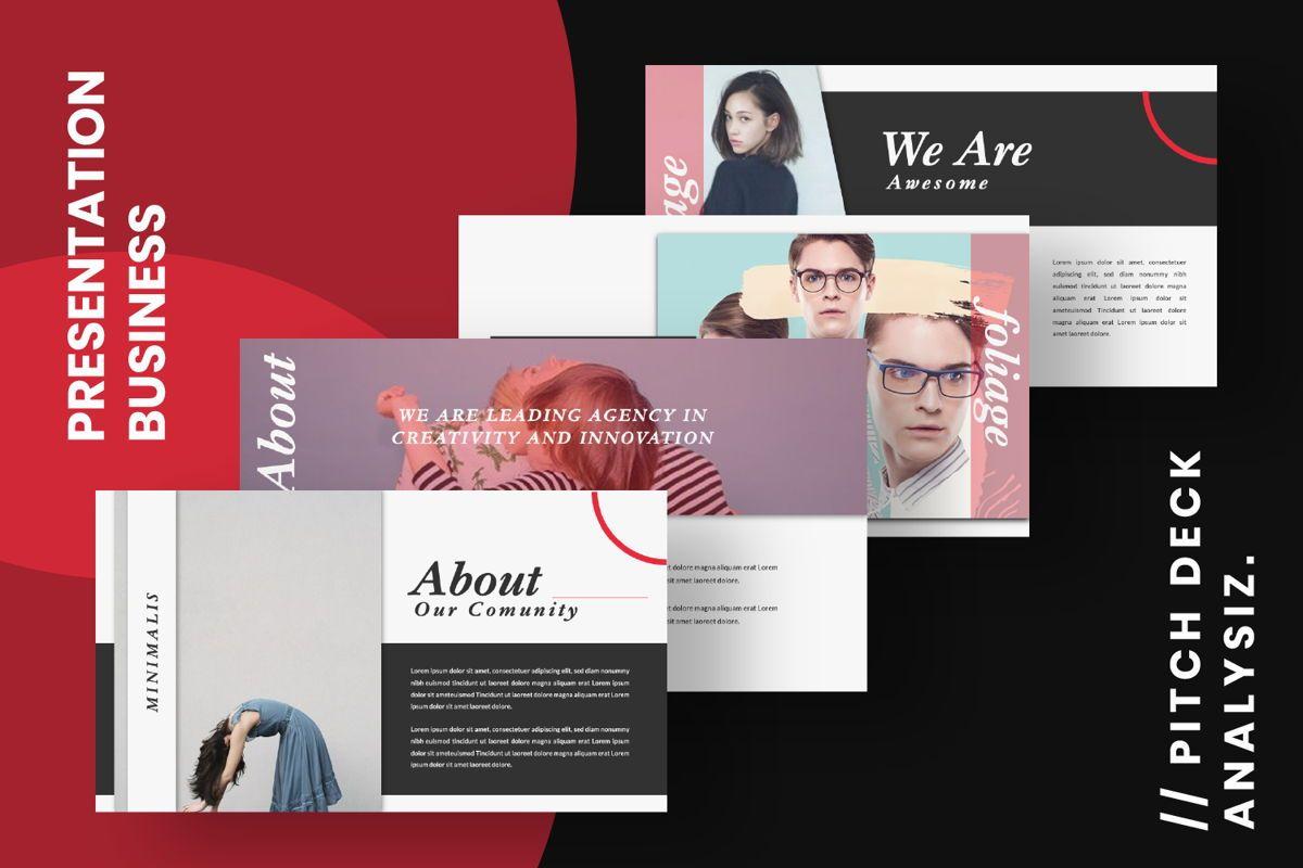Foliage Business Google Slide, Slide 13, 06645, Presentation Templates — PoweredTemplate.com