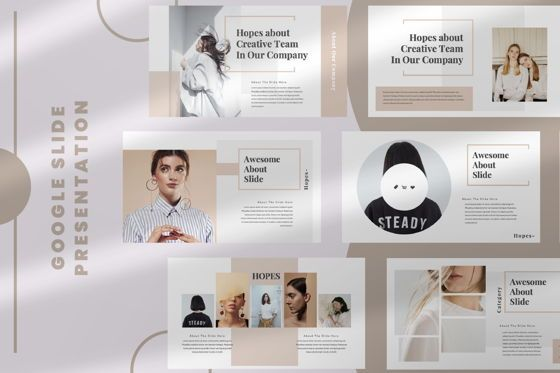 Presentation Templates: Hope Creative Google Slide #06649