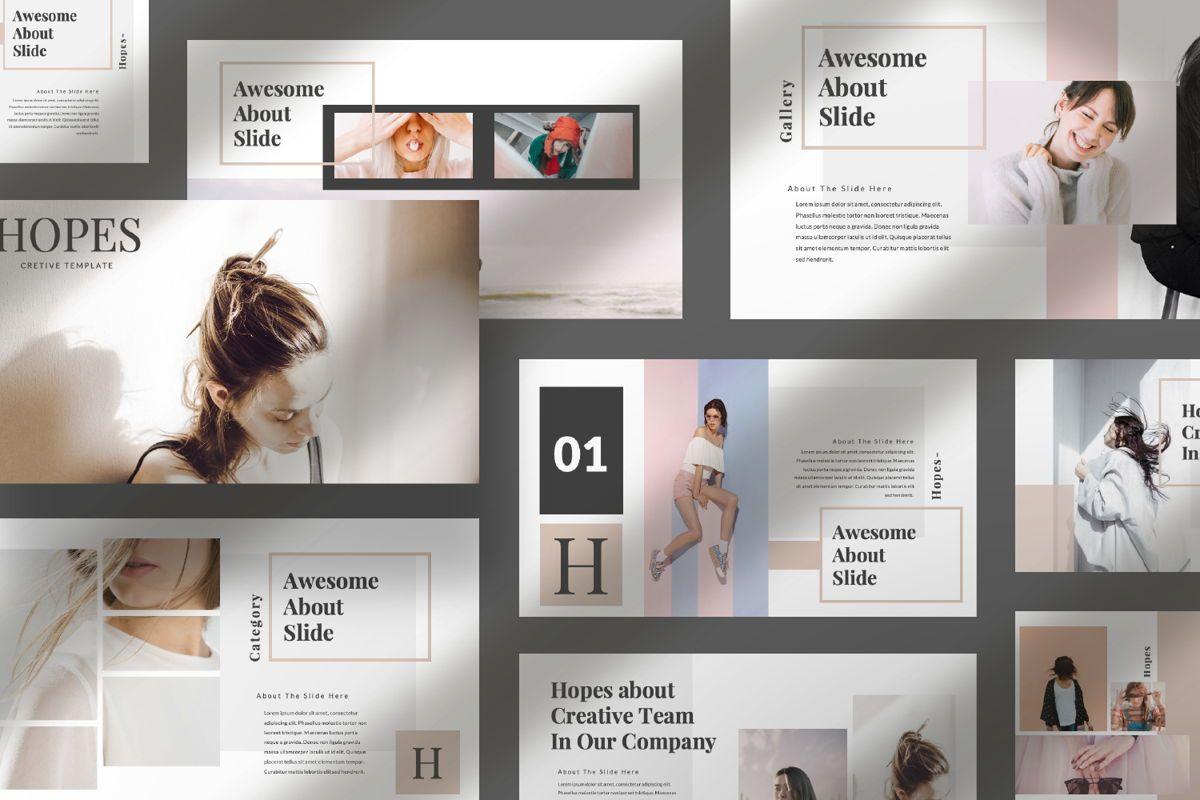 Hope Creative Google Slide, Slide 10, 06649, Presentation Templates — PoweredTemplate.com