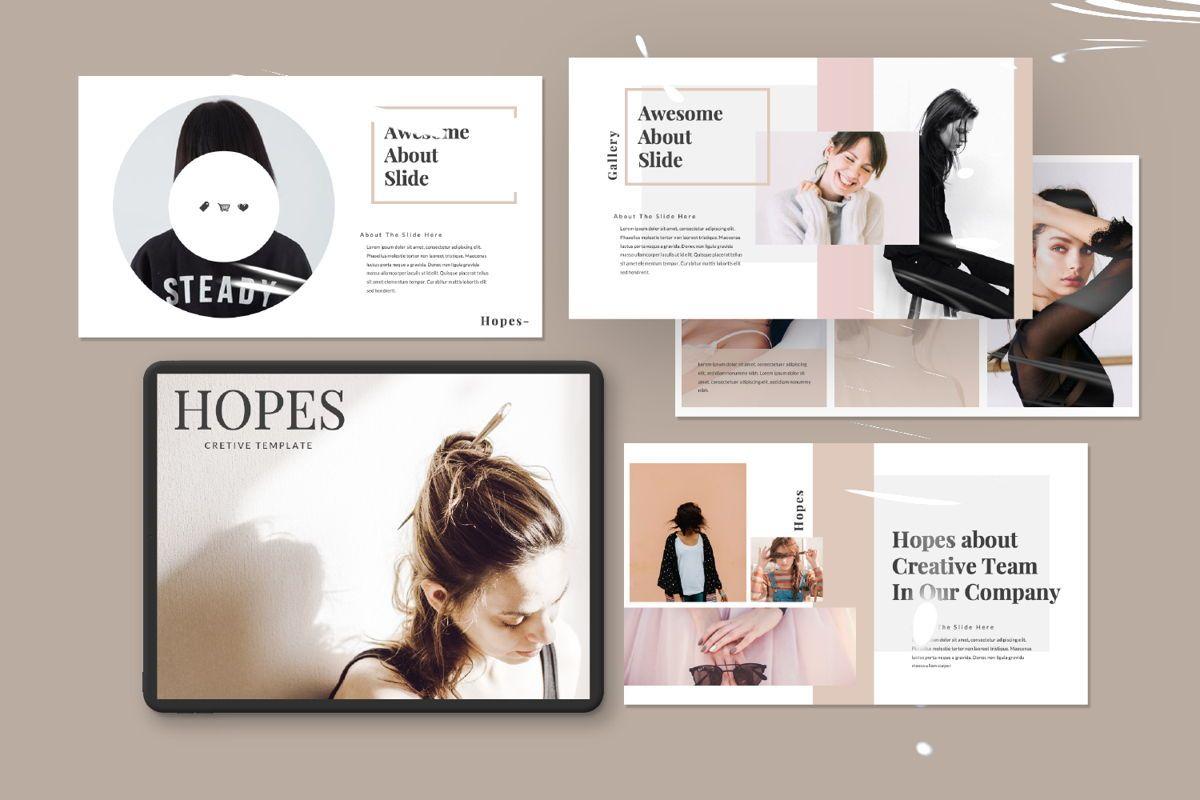 Hope Creative Google Slide, Slide 11, 06649, Presentation Templates — PoweredTemplate.com