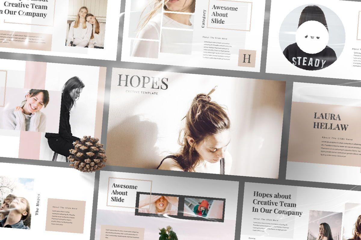 Hope Creative Google Slide, Slide 12, 06649, Presentation Templates — PoweredTemplate.com