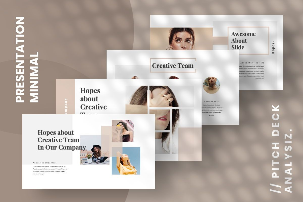 Hope Creative Google Slide, Slide 14, 06649, Presentation Templates — PoweredTemplate.com