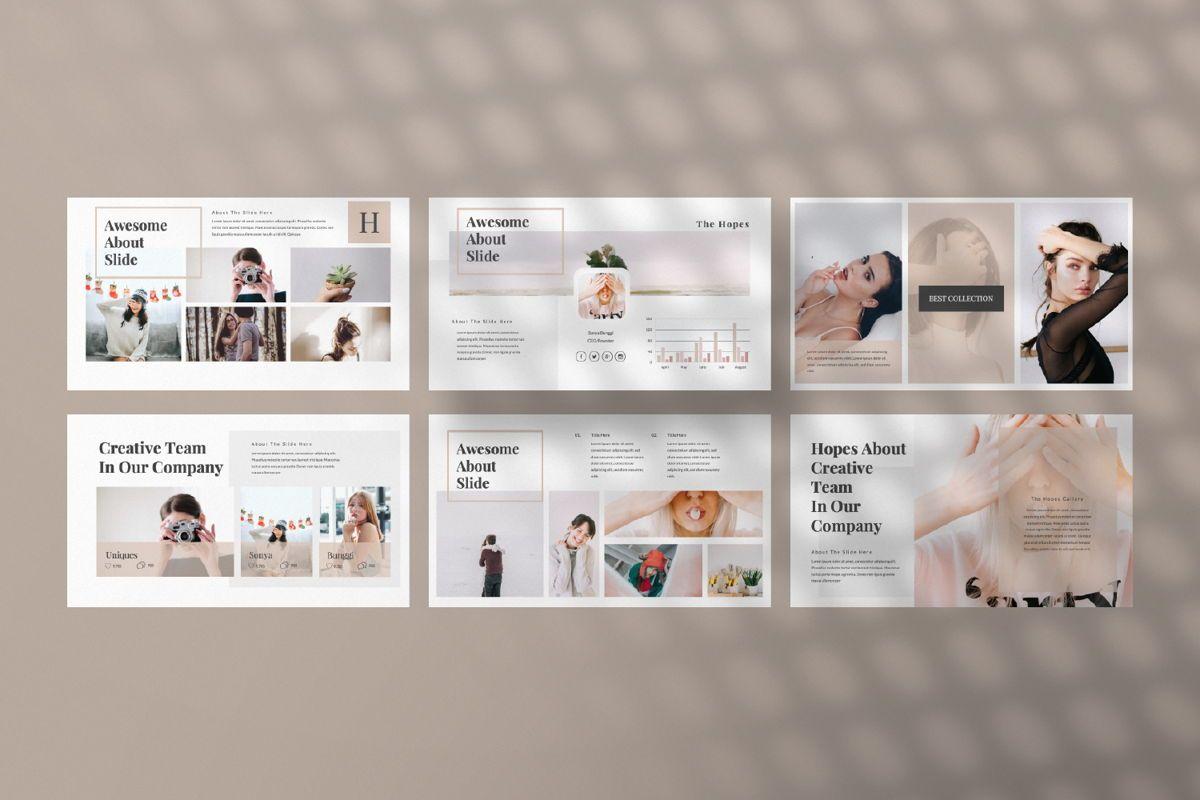 Hope Creative Google Slide, Slide 4, 06649, Presentation Templates — PoweredTemplate.com