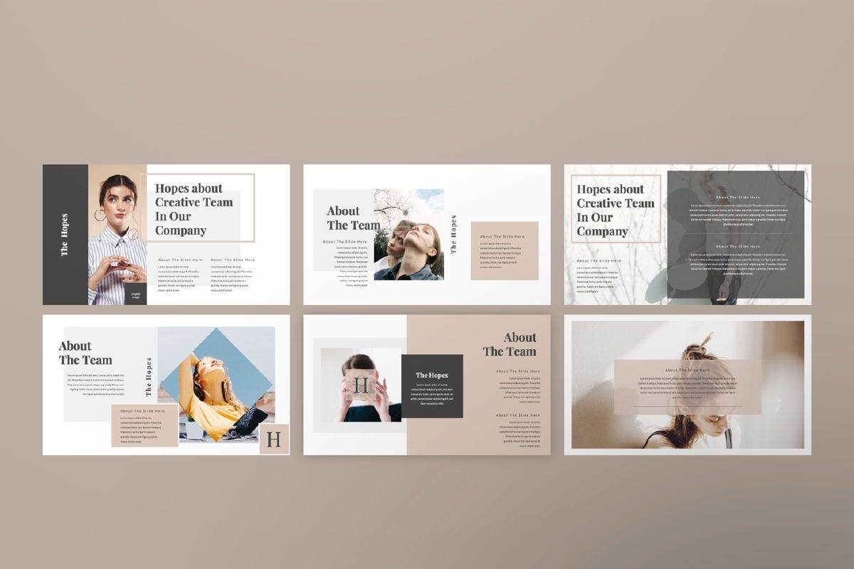 Hope Creative Google Slide, Slide 7, 06649, Presentation Templates — PoweredTemplate.com