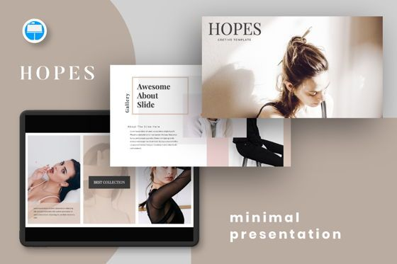 Presentation Templates: Hope Creative Keynote #06650