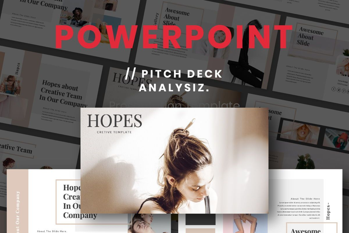 Hope Creative Powerpoint, 06651, Presentation Templates — PoweredTemplate.com