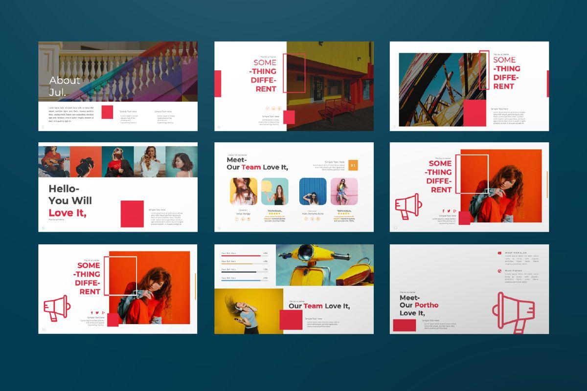 Jul Business Google Slide, Slide 2, 06652, Presentation Templates — PoweredTemplate.com