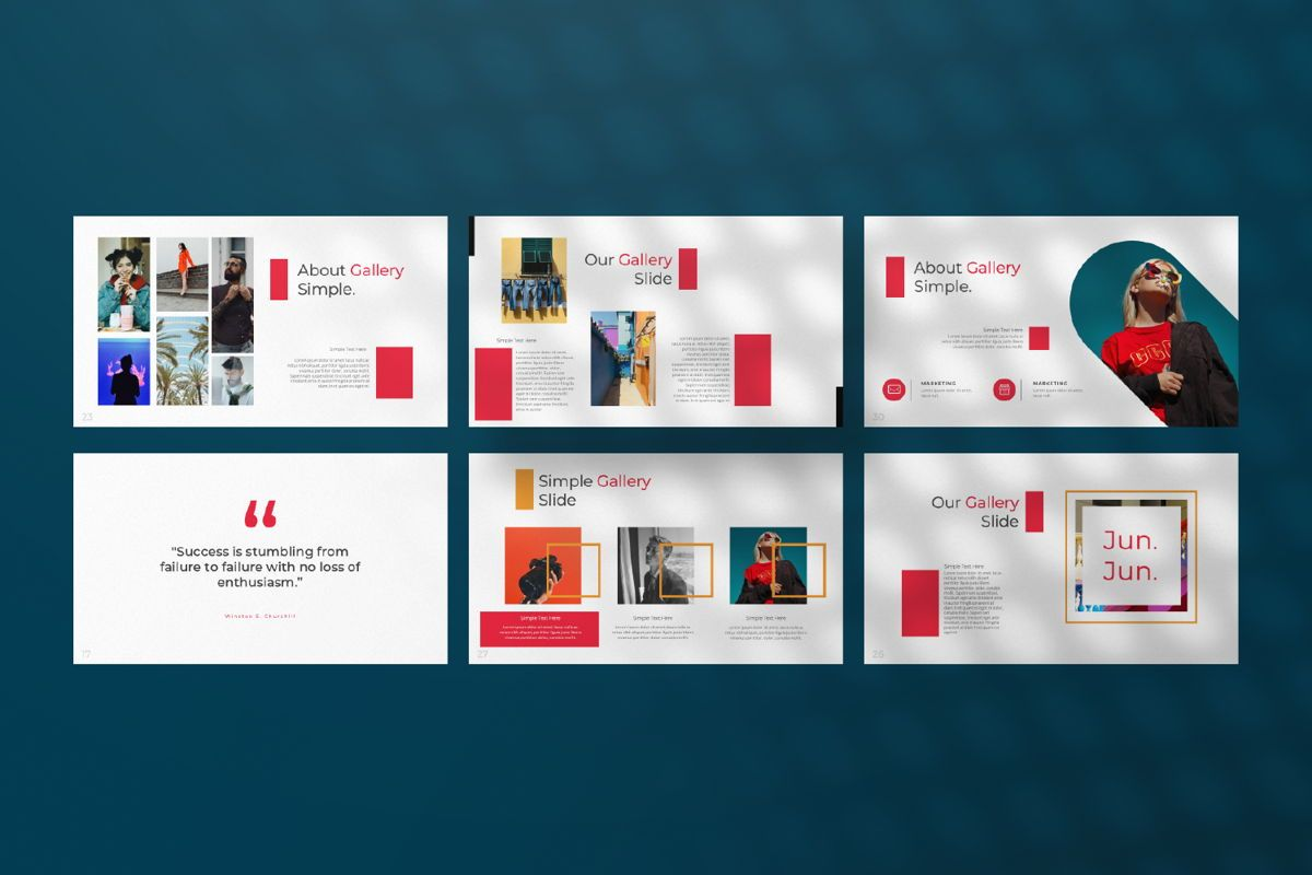 Jul Business Google Slide, Slide 4, 06652, Presentation Templates — PoweredTemplate.com