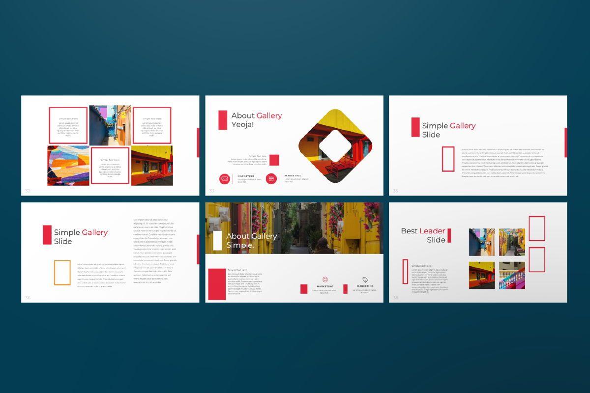 Jul Business Google Slide, Slide 6, 06652, Presentation Templates — PoweredTemplate.com