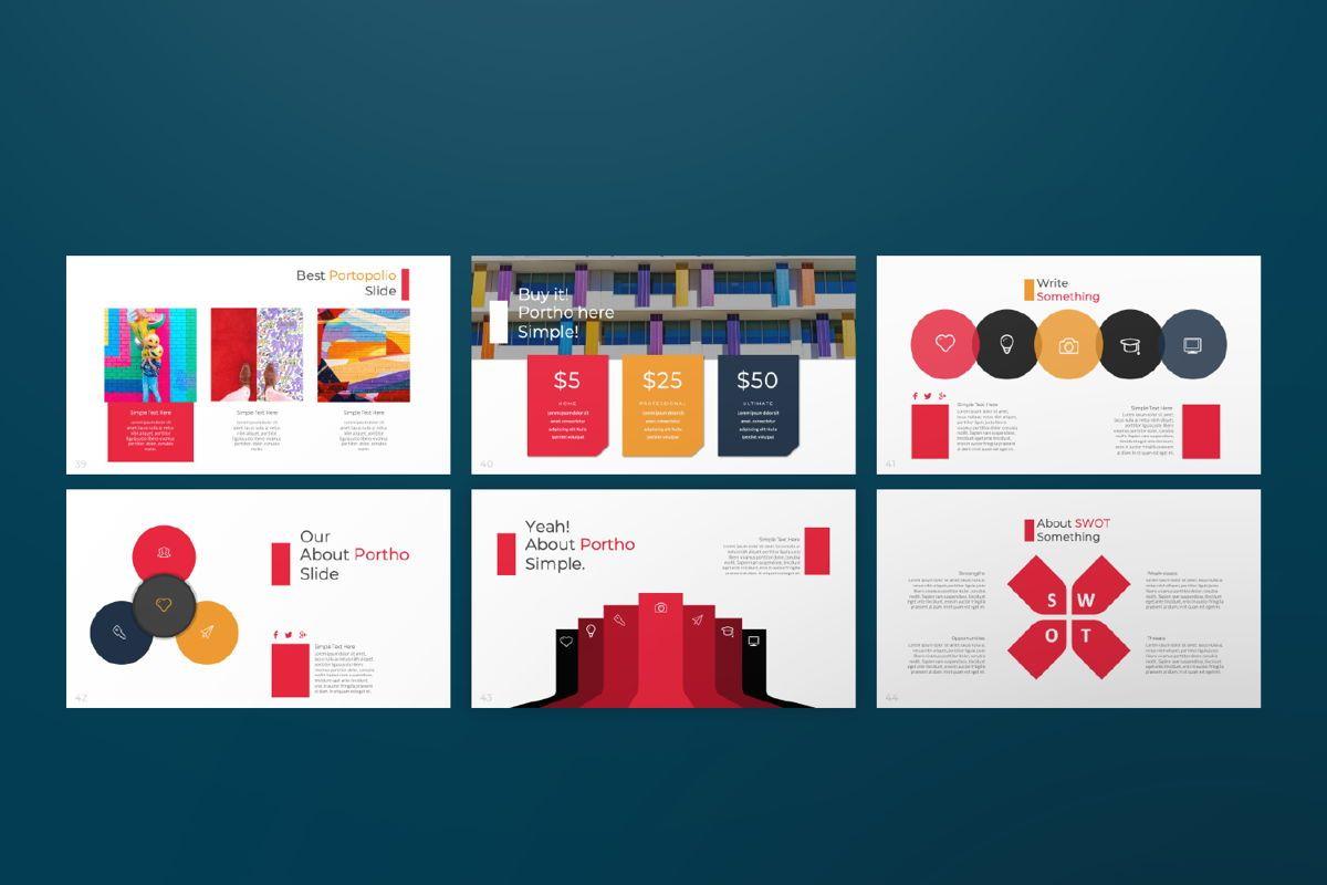 Jul Business Google Slide, Slide 7, 06652, Presentation Templates — PoweredTemplate.com