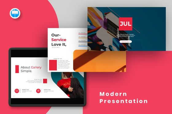 Presentation Templates: Jul Business Keynote #06653