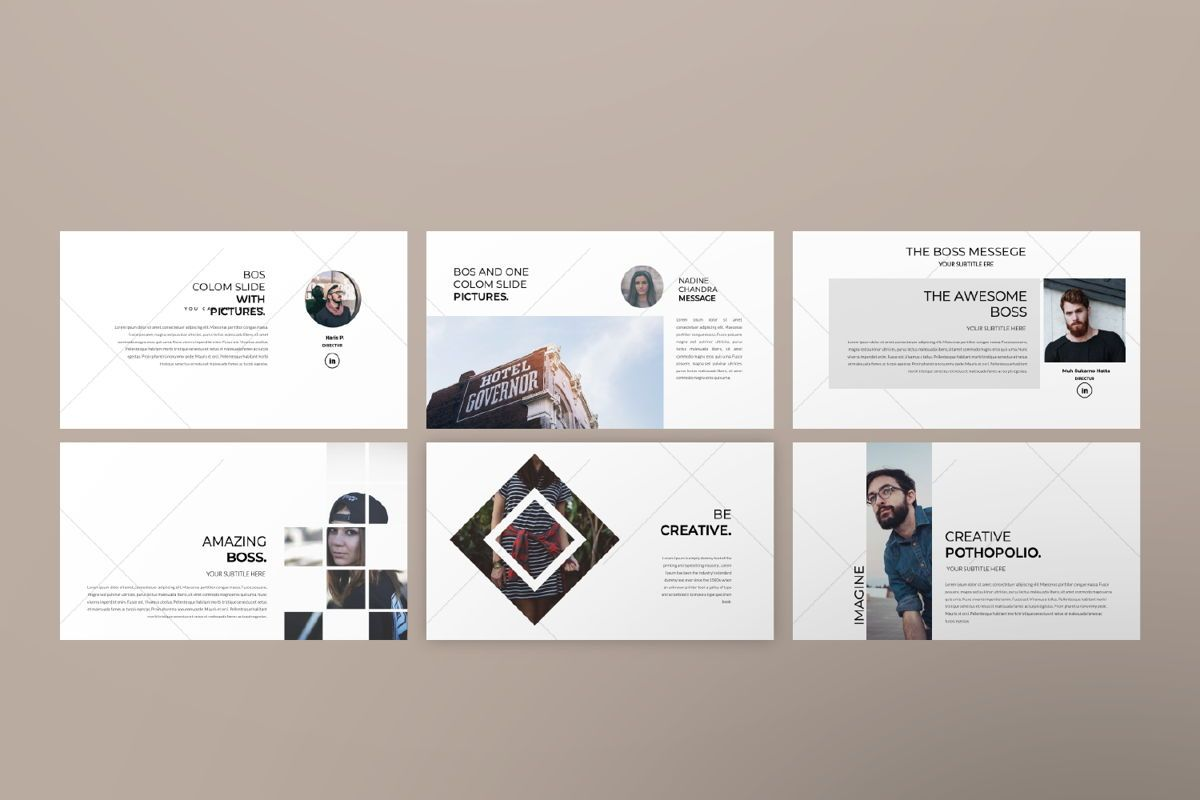 Inside Us Creative Google Slide, Slide 7, 06655, Presentation Templates — PoweredTemplate.com
