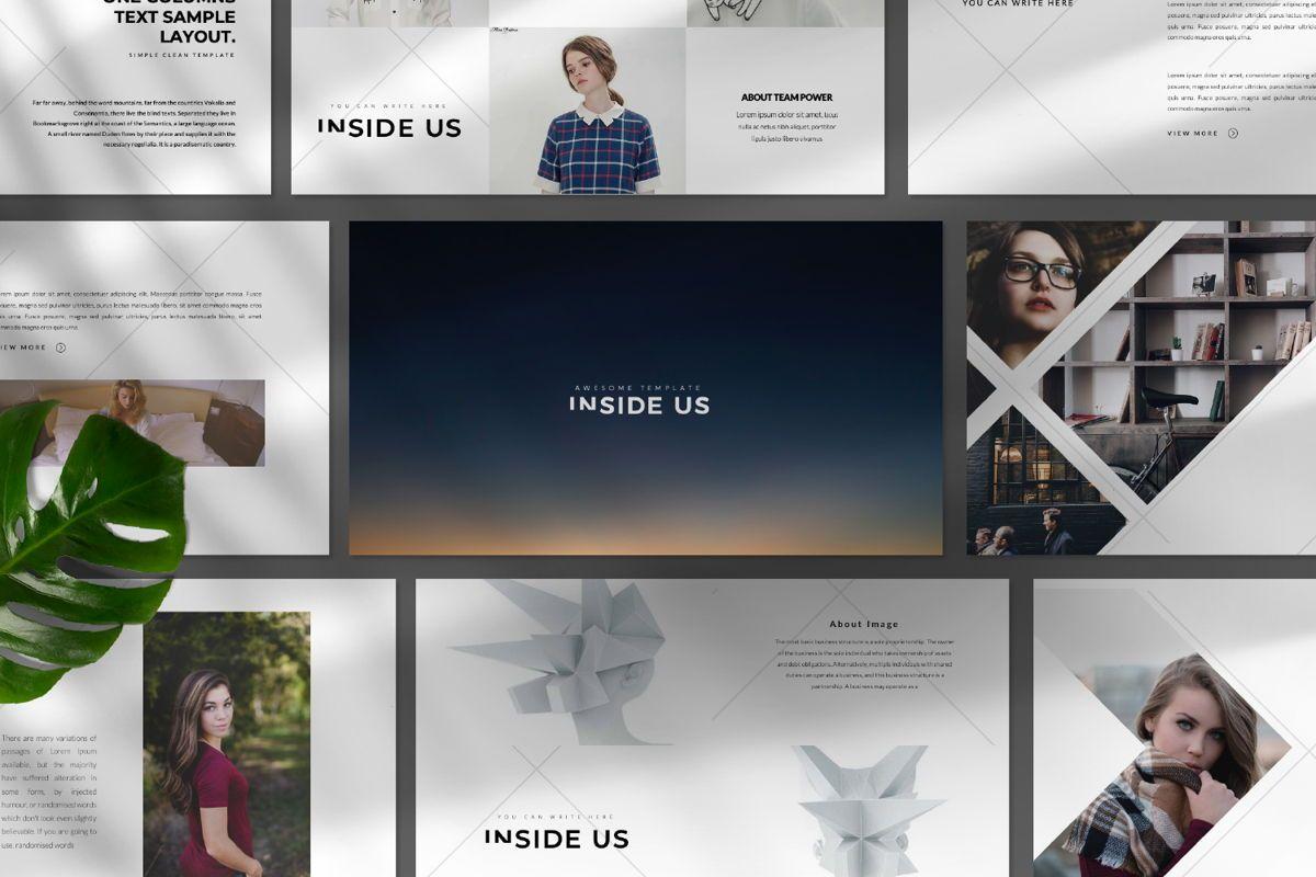Inside Us Creative Google Slide, Slide 9, 06655, Presentation Templates — PoweredTemplate.com