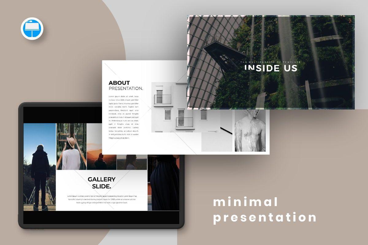 Inside Us Creative Keynote, 06656, Presentation Templates — PoweredTemplate.com