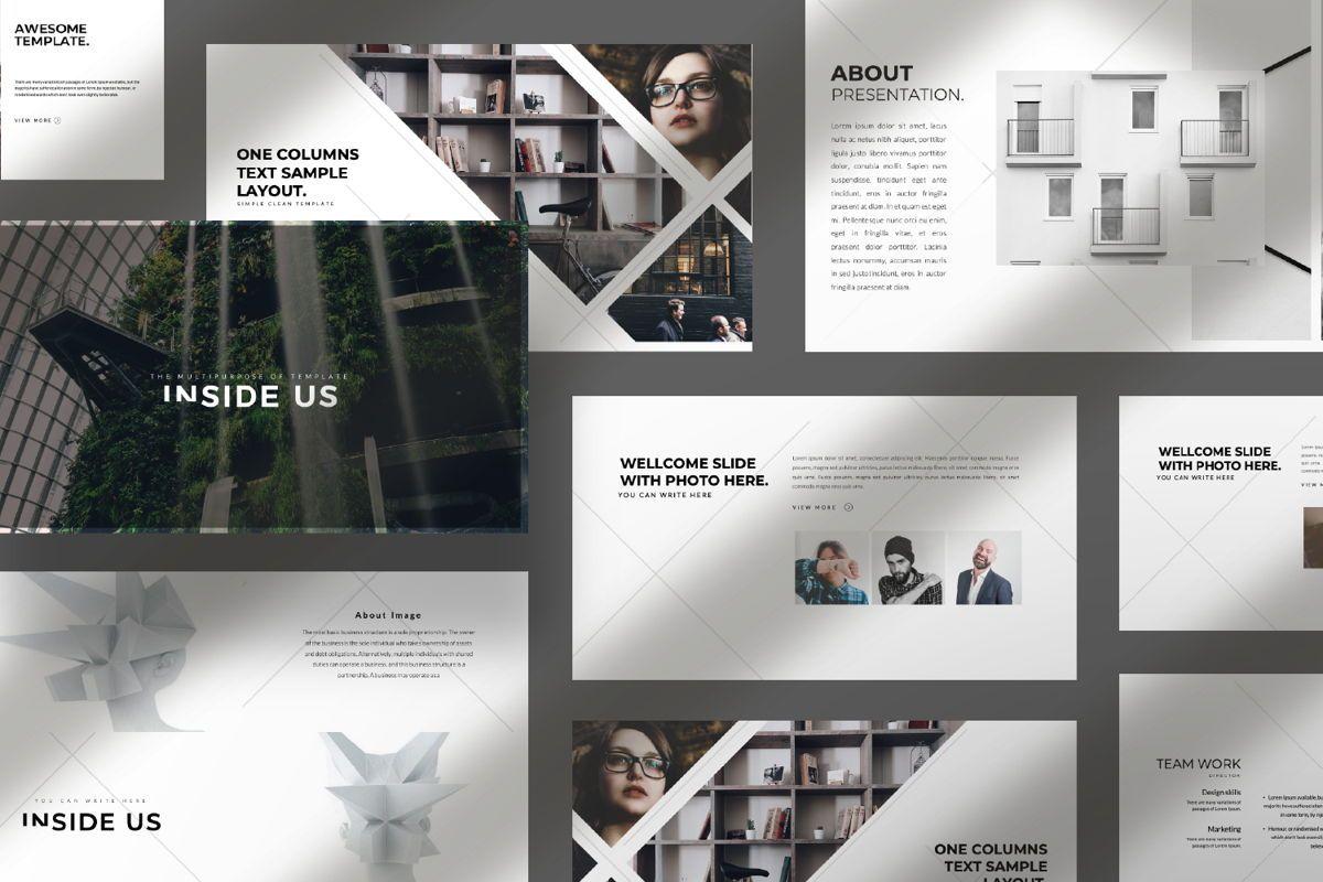 Inside Us Creative Keynote, Slide 10, 06656, Presentation Templates — PoweredTemplate.com