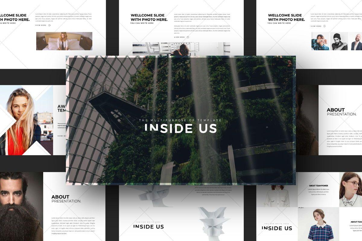 Inside Us Creative Keynote, Slide 13, 06656, Presentation Templates — PoweredTemplate.com