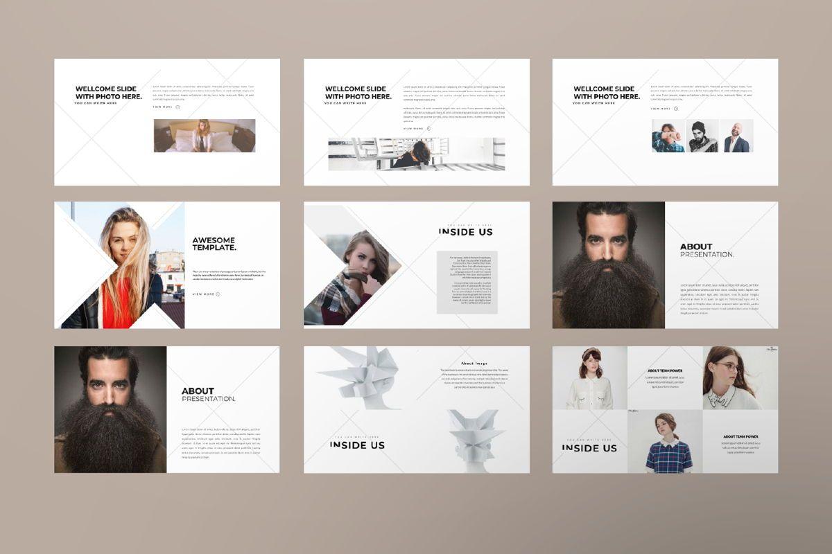 Inside Us Creative Keynote, Slide 2, 06656, Presentation Templates — PoweredTemplate.com